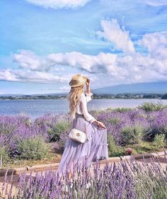 Paris Photography, Spring Photography, Girl Photography, Fantasy Photography, Spring Photos, Fashion Poses, Girl Fashion, Fashion Outfits, Lavender Outfit