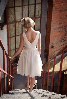 Tobi Hannah | Tobi Hannah Bridal | Spring 2013 Campaign | Tea Length Dresses, Short Wedding Dresses