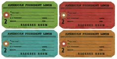 printable luggage favor labels