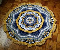 Part 9 #mandalamadness #crochet