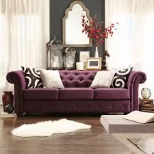Tribecca Home Knightsbridge Dark Grey Tufted Scroll Arm Chesterfield Sofa (Dark Gray Linen Sofa)