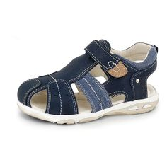 SKEANIE All Terrain Sandals are hand made from durable leather. These shoes feature luxurious leather uppers and lining with a flexible rubber sole. With a covered toe, the All Terrain is the perfect Day Care / Pre-school shoe. Kids Sandals, Blue Sandals, Leather Conditioner, School Shoes, Pre School, Kid Shoes, Leather Sandals, Footwear, Toe