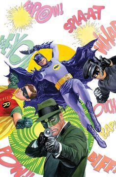 """""""Batman '66 Meets Green Hornet"""" by Alex Ross"""