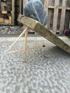 Ok, I'm not using it camping (it's for rats on my bird feeder) but this figure 4 small animal trap is great for feeding yourself in a fix! Rats, Bird Feeders, Camping, Nature, Projects, Fun, Animals, Furniture, Home Decor