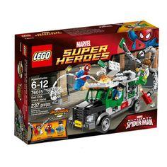 LEGO Superhjältar Doc Ocks lastbilskupp - Roliga Prylar