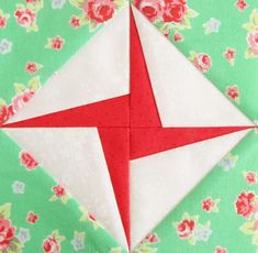 So nice! Farmer's Wife Quilt Along Week28 - Pretty by Hand -