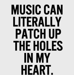 I love music it's my place to go hide Music Is My Escape, Music Is Life, My Music, Music Happy, Music Words, Piano Man, The Distillers, Motivacional Quotes, Kings Of Leon