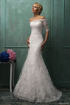 AmeliaSposa 2014 bridal collection.