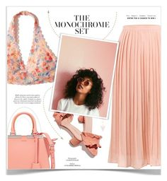 """""""#335) THE MONOCHROME SET ♡"""" by fashion-unit ❤ liked on Polyvore featuring Hollister Co., Fendi, Loeffler Randall and Madewell"""
