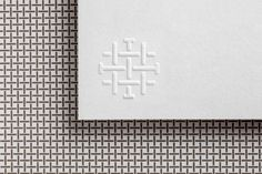 Brand identity and blind embossed business cards designed by Mucho for Spanish hotel Sant Francesc. Hotel Logo, Hotel Branding, Logo Branding, Brand Identity Design, Branding Design, Logo Design, Stationary Branding, Stationery Design, Embossed Business Cards