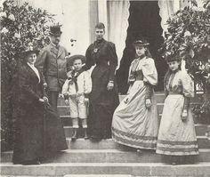 1895 Louise with her husband and children. Denmark Royal Family, Danish Royal Family, Christian Ix, Maria Feodorovna, Princess Alexandra, Grand Duke, Danish Royals, King George, My Princess