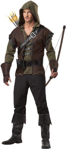 Sherwoods Robin Hood Mens Renaissance Costume