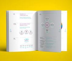브로슈어 Web Design, Layout Design, Print Design, Booklet Design, Brochure Design, Book Layout, Page Layout, Editorial Layout, Editorial Design