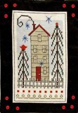 HOUSE ON PINE HILL SAMPLER-CROSS STITCH-BOBBIE G DESIGNS