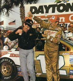 Davey and Bobby Allison.  From Hueytown.