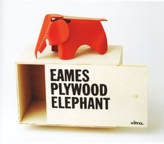 Eames Plywood Elephant, designed in 1945, by Charles and Ray Eames.