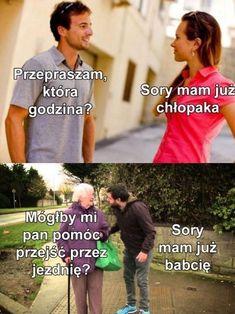 Memy, memy dla każdego. Rozdaję memy z mojej galerii, żeby podzielić … #losowo # Losowo # amreading # books # wattpad Polish Memes, Funny Mems, Meme Comics, Quality Memes, Haha Funny, Best Memes, Funny Photos, I Am Awesome, Songs