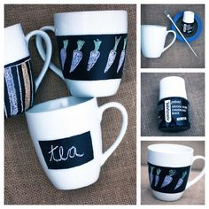 21. Mugs | 33 Things You Can Turn Into Chalkboards