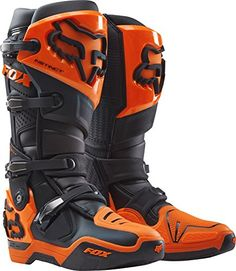 2017 Fox Racing Instinct Boots-Black/Orange-10 Fox Racing