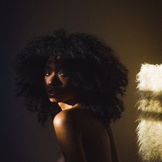 Aesthetic, pretty black girls, black is beautiful, birthday makeup, types o Beauty Skin, Hair Beauty, Curly Hair Styles, Natural Hair Styles, Pelo Afro, Photoshoot Themes, Beautiful Black Girl, Pretty Black, Brown Skin Girls