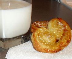 Orange Marmalade Palmiers
