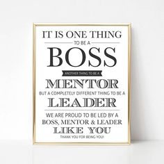 Digital Boss Gift Best Quote Appreciation Gifts For