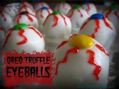 Oreo Truffle Eyeballs on MyRecipeMagic.com