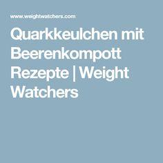 Quarkkeulchen mit Beerenkompott Rezepte   Weight Watchers
