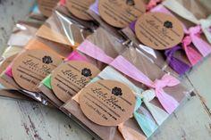 Nice Idea! Elastic Hair Ties - Party Packs - Knotted Hair Ties - Ponytail Holders - 6 sets of 4 hair ties