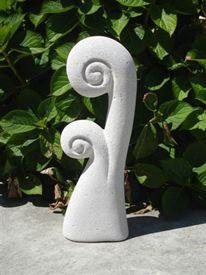 2 waves sculpture