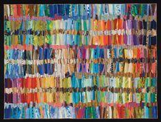Art quilt by Sue Benner   Santa Barbara Quilting Retreat, 2014