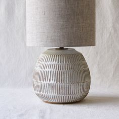 Handmade ceramics and pottery Bohemian Lamp, Concrete Crafts, Pottery Making, Creative Decor, Lamp Bases, Rustic Interiors, Interior Accessories, Lamp Design, Interior Lighting