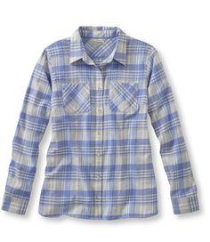 Grey/Heather Freeport Flannel Shirt