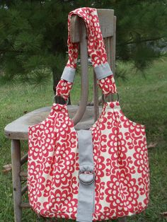 The MAMA MIA  Bag   diaper bag or large by TOOCUTEbyJeannette, $65.00