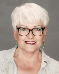 Short Hairstyles for Women Over 60 with Glasses pic | Latest Hairstyles See and learn how to style most popular hairstyles