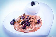 Fitness On Toast Faya Blog Girl Healthy Nutrition Food Recipe Pancake Dessert Treat Cheat Cinnamon Manuka Honey Yoghurt Blackberry Almond