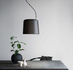 New minimalist pendant light by Vipp