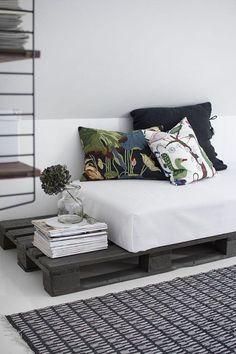 Sofá de Pallet: 105 Modelos, Fotos e Passo a Passo DIY