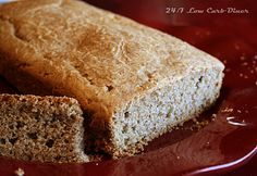 24/7 Low Carb Diner:Super easy Almond Butter Bread. Low carb, gluten free, and no weird ingredients.