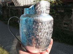 Around the pitcher is a beautiful Thai pattern. Made of non-rusting aluminum. Used for drinking water to serve. - You will receive the item within weeks depend on your location.