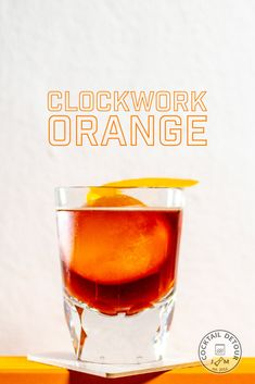 Coffee, Aperol and akvavit goes in the same drink, and something magical is created! Orange Zest, Orange Recipes, Cocktails, Drinks, Simple Syrup, Iced Tea, Martini, Liquor, Craft Cocktails