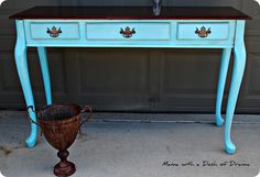 Two-Toned Writing Desk