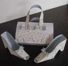 Patricia's handbag and Shoes. Flower Making, Platform, Box Bag, London, Heels, Flowers, Roses, Crafts, Handmade