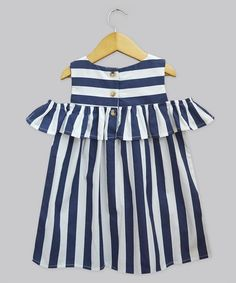 A.T.U.N. Navy Stripe Lucy Dress