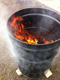 The Cheezer's random thoughts: Ugly Drum Smoker Barrel Bbq, Barrel Smoker, Metal Barrel, Uds Smoker, Build A Smoker, Ugly Drum Smoker, Fire Basket, 55 Gallon Drum, Random Thoughts