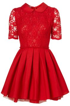 Poppy lace dress by Jones and Jones - Topshop #TopshopPromqueen I love the tutu look and feel of a Jones And Jones dress!