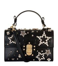 2eb7f013e1 Accessories  Shoulder Bags Dolce   Gabbana Lucia Embellished Shoulder Bag  Designer Bags Online