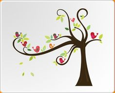 Birds in a Tree Wall Sticker - Wall Stickers - Choose By Product