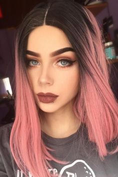 You deserve some amazing Rose Gold Hair Color for your long hair. So, regarding that, we have gathered some lovely Rose Gold Hair Color suggestions only for you. Straight Lace Front Wigs, Synthetic Lace Front Wigs, Front Lace, Straight Bob, Ombre Hair Color, Cool Hair Color, Two Color Hair, Hair Color Ideas, Ombre Rose