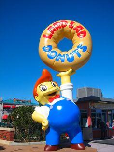 Universal Studios Lard Boy Donuts - Springfield